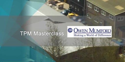 TPM Masterclass at Owen Mumford