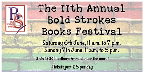 11th Annual Bold Strokes Books Festival UK (Saturday) tickets