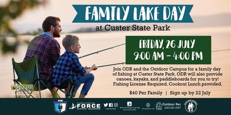 Family Lake Day at Custer State Park - EAFB tickets