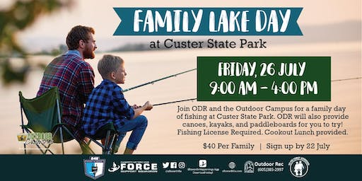 Family Lake Day at Custer State Park - EAFB