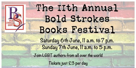 11th Annual Bold Strokes Books Festival UK (Sunday) tickets