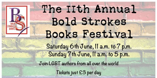 11th Annual Bold Strokes Books Festival UK (Sunday)