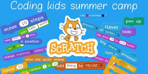 Coding kids summer camp 1