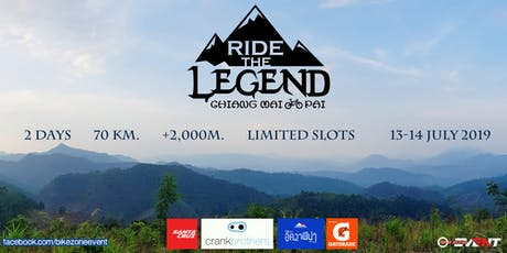 Ride The Legend: Chiang Mai - Pai tickets
