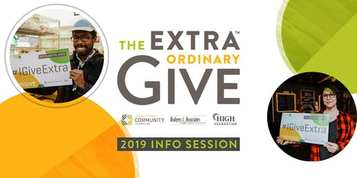 2019 Extraordinary Give Info Session!