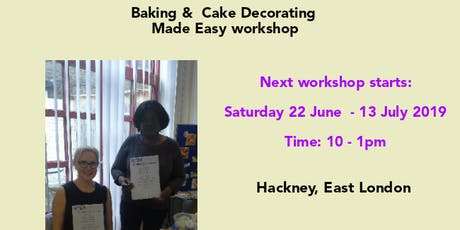 Baking and Cake Decorating Made Easy tickets