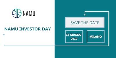 Namu Investor Day – Save the Date