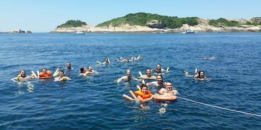 Domingo na Ilha de Cotunduba - Rio Boat Cruise