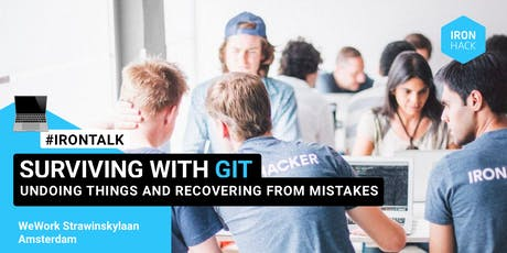 IRONTALK: Surviving with GIT by Tobias Gunther tickets
