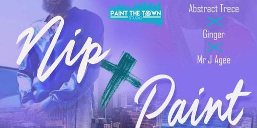 {Private} Paint the Town with Abstract Trece, Ginger & Mr J Agee