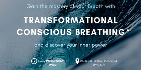 Transformational Conscious Breathing – Unlock your natural power for Optimum Health and Performance tickets