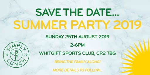 Simply Lunch Summer Party 2019