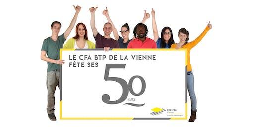 Le CFA BTP de la Vienne fête ses 50 ans