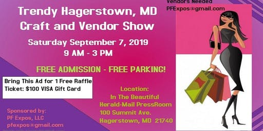 Trendy Hagerstown, MD Craft & Vendor Show