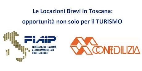 Le locazioni Brevi in Toscana: opportunità non solo per il turismo biglietti