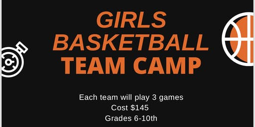 Como Park Girls Basketball Team Camp