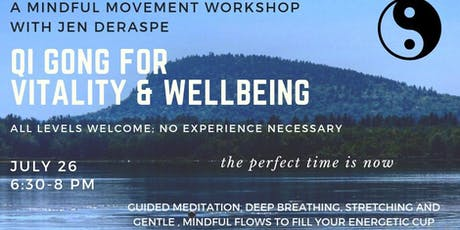 Qi Gong for Vitality & Wellbeing tickets