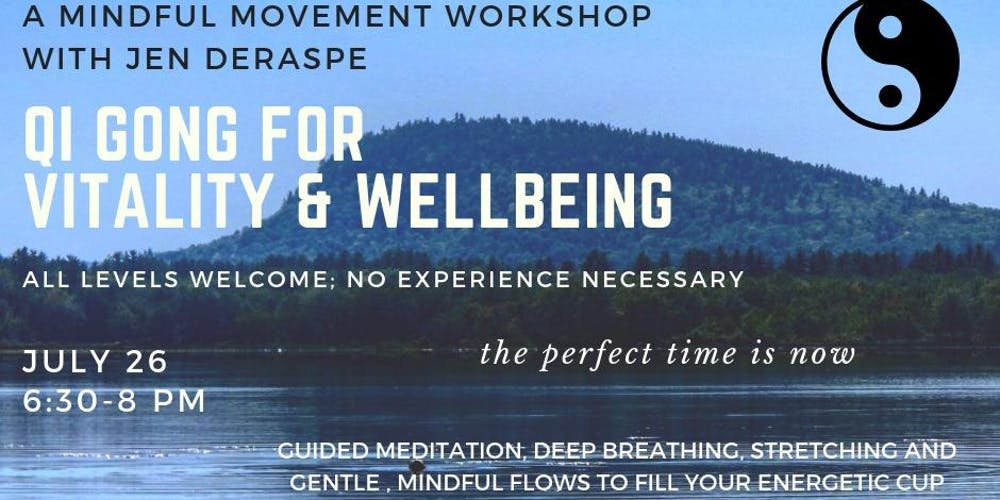 Qi Gong for Vitality & Wellbeing