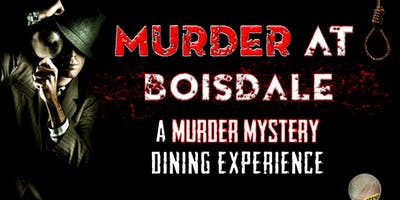 Murder at the Boisdale: A murder mystery dining ex