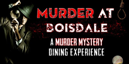Murder at the Boisdale: A murder mystery dining experience