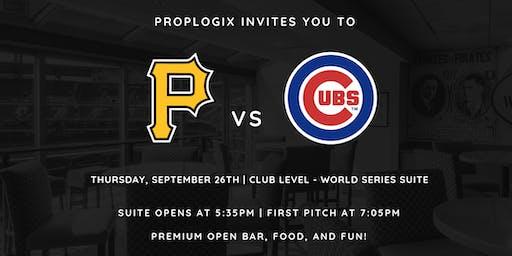 PropLogix: Pirates vs. Cubs