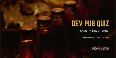 FREE EVENT - Developer Pub Quiz in Brno