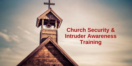 1 Day Intruder Awareness and Response for Church Personnel -Arab, AL tickets