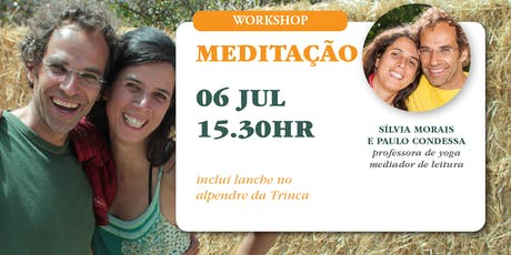 Workshop de Meditação bilhetes