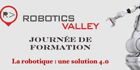 Journée d'Initiation à la Robotique  billets