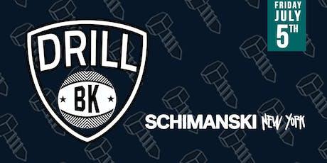 DRILL BK tickets