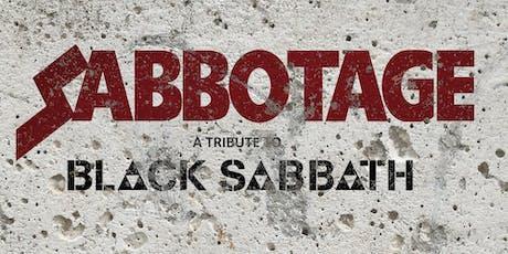 Sabbotage - A tribute to Black Sabbath tickets