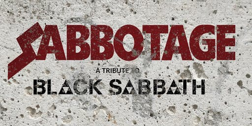 Sabbotage - A tribute to Black Sabbath