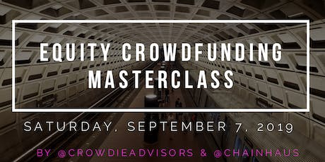 Equity & Debt Crowdfunding Masterclass - DC tickets