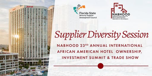 Supplier Diversity Session at NABHOOD 23