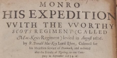Meet the Books: Monro's Expedition & A Generall Historie of the Netherlands tickets