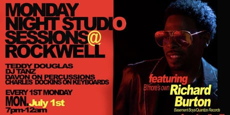 MONDAY NIGHT STUDIO SESSIONS feat. Richard Burton tickets
