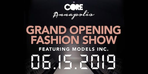 CORE Annapolis Grand Opening Fashion Show
