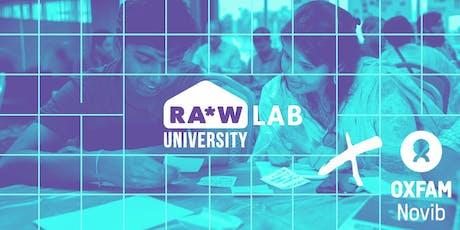 RA*W University Lab: Oxfam Novib tickets
