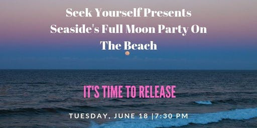 Seaside's Full Moon Party on the Beach