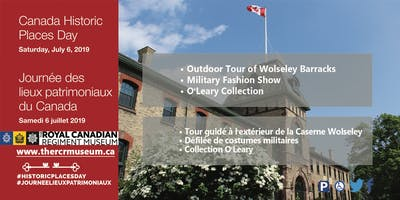 Historic Places Day at Wolseley Barracks
