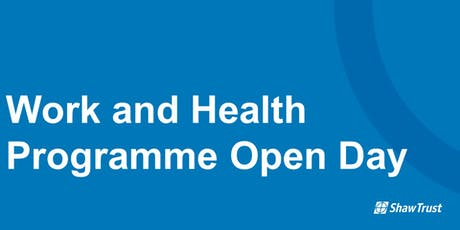 Work and Health Programme Open Day tickets