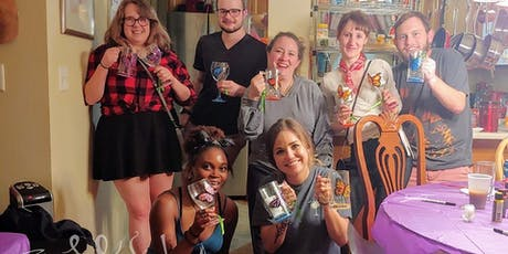 4th of July Glass Painting Class @ Liquid Mechanics Brewing 7/1 @ 6:30pm tickets