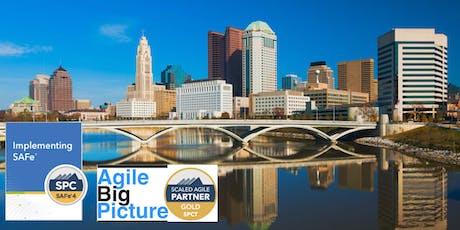 COLUMBUS, OH - Implementing SAFe® with SPC Cert ***GUARANTEED TO RUN*** tickets