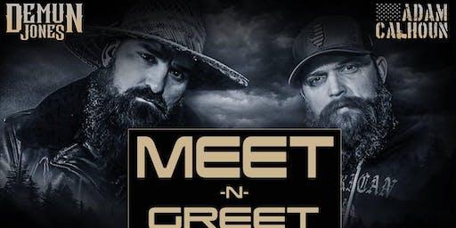 Adam Calhoun & Demun Jones Meet and Greet (Clifton Park, NY)