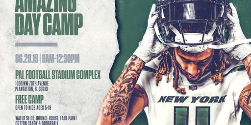 Robby Anderson's Amazing Day Camp