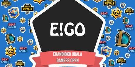 Erandio! Gamers Open 2019 entradas