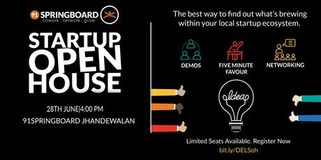 Startup Open House tickets
