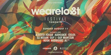 We Are Lost Festival Toronto 2019 tickets