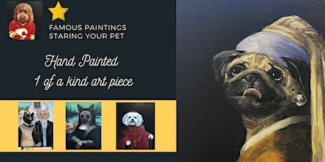 Famous Painting - Staring your Pet tickets