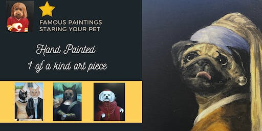 Famous Painting - Staring your Pet